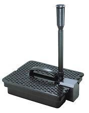 Pondmaster 190 GPH Mag Pump & Pond Filter Fountain Head Kit System | 02019