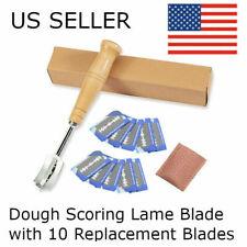 Lotus Bread Lame Dough 10 Blades - Scoring Knife Tool Slashing Razor Blade dough