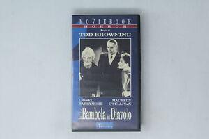VHS LA BAMBOLA DEL DIAVOLO PANTMEDIA  BROWNING, BARRYMORE  [MF-027]