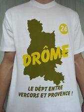 Superbe t-shirt DRÔME DRÔMOIS DRÔMOISE VERCORS VALENCE ROMANS MONTELIMAR DIE bis