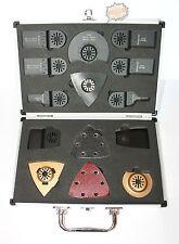 14 tlg. Zubehör Sägeblatt Schleifpapier P80 Set für Fein Multimaster Bosch Worx