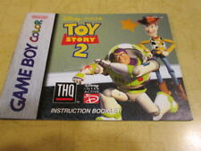 INSTRUCTION BOOKLET FOR TOY STORY 2   FOR THE GAME BOY COLOR SYSTEM