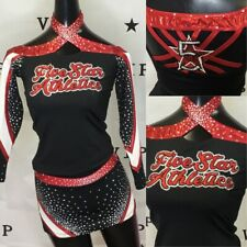 Real Cheerleading Uniform Five Star Athletics Youth L Or Adult Xs