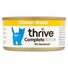 thrive Wet Kitten Food Chicken Breast 100% Natural Complete Tin Grain-Free - 75g