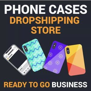 Premium PHONE CASES Dropship Website Business | FULLY STOCKED + FREE MARKETING