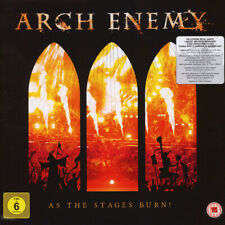 ARCH ENEMY As The Stages Burn! 2LP + DVD NEW & SEALED Live At Wacken 2016