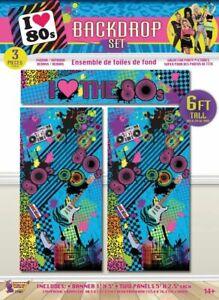 80's Backdrop Set