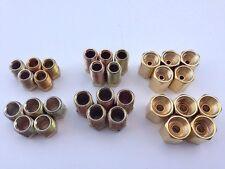 "3/16"" & 1/4"" Brake Fitting & Brass Inverted Flare Union Asst-30 Pcs"
