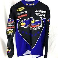 Pearl iZumi Bike Cycling LongcSleeve Shirt XL Heat Gear Racing Shimano Heat Gear