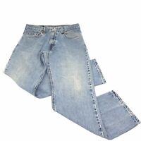 Levi's Men's 505 Jeans Regular Fit Faded Broken In Vintage 80s USA 34 X 30