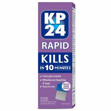 KP24 RAPID KIT SOLUTION 150ML & 1 COMB KILLS IN 10 MINUTES HEAD LICE