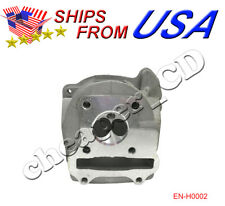 49cc 50cc Cylinder Head GY6 Scooter Moped ATV Engine 139QMB 4-Stroke Dirt Bike