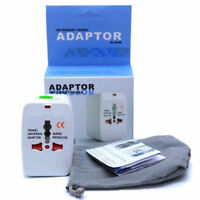 Universal International Travel AC Adapter Power Outlet Plug Converter 110v-220v