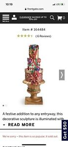 Light Up Frontgate Christmas stacking presents