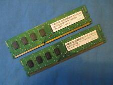 4GB (2x2GB) 78.A1GC3.421 Apacer PC3 8500 Non-ECC DDR3 Memory Kit