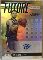 2019 Absolute Memorabilia Future Signatures Level 1 #15 Ty Jerome RC Rookie /49