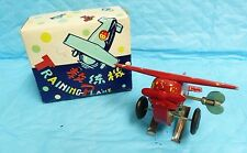 VTG TRAINING PLANE MS011 TIN LITHO TOY PEOPLES REPUBLIC OF CHINA NEEDS REPAIR