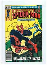 Marvel Comics Spectacular Spiderman #58 Fine+ 1981