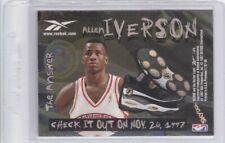 1997-98 SkyBox Premium Allen Iverson Silver Shoe