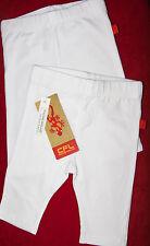 CFL Mädchen-Leggings - Doppelpack - weiß - Capri-Leggings - Größe 68/74 - NEU