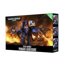 Easy to Build Primaris Aggressors Space Marines Warhammer 40K NIB Flipside