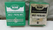 (2) Set's in Boxes / RCBS Precisioneered Rifle & Pistol Dies