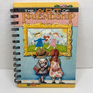 Mary Engelbreit The Art Of Friendship Blank Wire Bound Journal Notebook