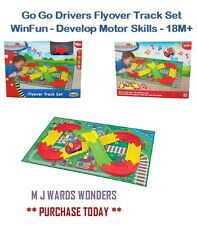 Go Go Drivers Flyover Track Set - WinFun - Develop Motor Skills - 18M+