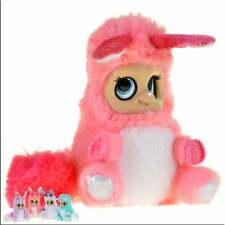 Bush Baby World Shimmies - Coral Pink Soft Toy with Movable Features