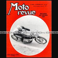 MOTO REVUE N°1658 J-P BELTOISE ★ VAP 50 SPECIAL MONNERET & RECORDS ★ MONZA 1963
