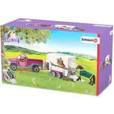 Schleich Horse Club Pick Up with Horse Box 42346 NEW