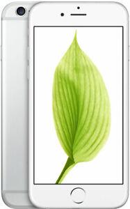 iPhone 6 - Unlocked (GSM) - 128GB - Silver - Good