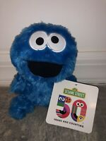 Sesame Street COOKIE MONSTER PLUSH 50th Anniversary 2019 Toy FACTORY Muppets New