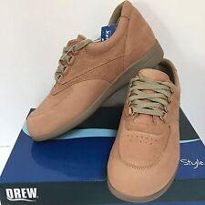 DREW Womens Leather Walking Shoe BLAZER 8.5M Taupe Comfort 10418 NEW J1