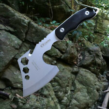 TACTICAL AXE TOMAHAWK ARMY OUTDOOR HUNTING CAMPING SURVIVAL MULTI FUNCTIONAL AXE