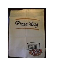 sacchetto scalda pizza da utilizzare nel microonde cucina bar ristorante