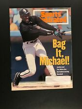 Michael Jordan Bag It Michael! White Sox SI Sports Illustrated March 14, 1994