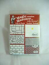 Dollhouse Miniature Magic Masonry Stucco Mix Kit 2.5 Sq Ft for Doll House