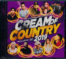Cream Of Country 2019 CD DVD NEW Kane Brown Luke COmbs Sam Hunt