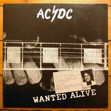 "AC/DC ""Wanted Alive"" 2002 Vinyl LP Einstein Productions EPLP. 014 ACDC"