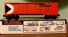 LIONEL TRAINS 6-19207 C.P. Double Door Box Car