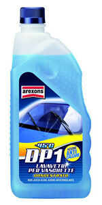 "Liquido lavavetri lava vetri per vaschette auto anti gelo AREXONS ""DP1"" lt.1"