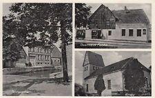 37044- Klein Rodensleben bei Wanzleben-Börde mit Gasthaus Fuchs 1937