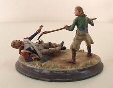 FAEV Vanot soldat révolutionnaire chouan scène diorama en métal peint