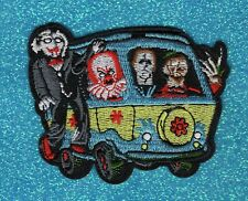 Freddy Kruger, Michael Meyers, Pennywise, & Billy the Puppet embroidery patch