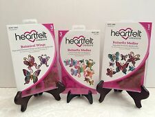 Lot Set Heartfelt Creations Butterfly Medley 2 Stamps+1 Die HCD759+3650+3652