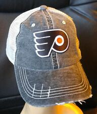 Philadelphia Flyers Distressed Trucker Cap Low Profile Special Cotton Mesh Hat