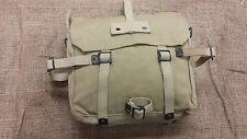 Israeli Shoulder Backpack Cotton Canvas Vintage