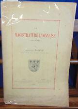 Niepce La magistrature Lyonnaise  1771 à 1883...