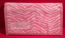 Pampered Chef Pink Zebra Coupon Holder – Help Whip Cancer Pr27